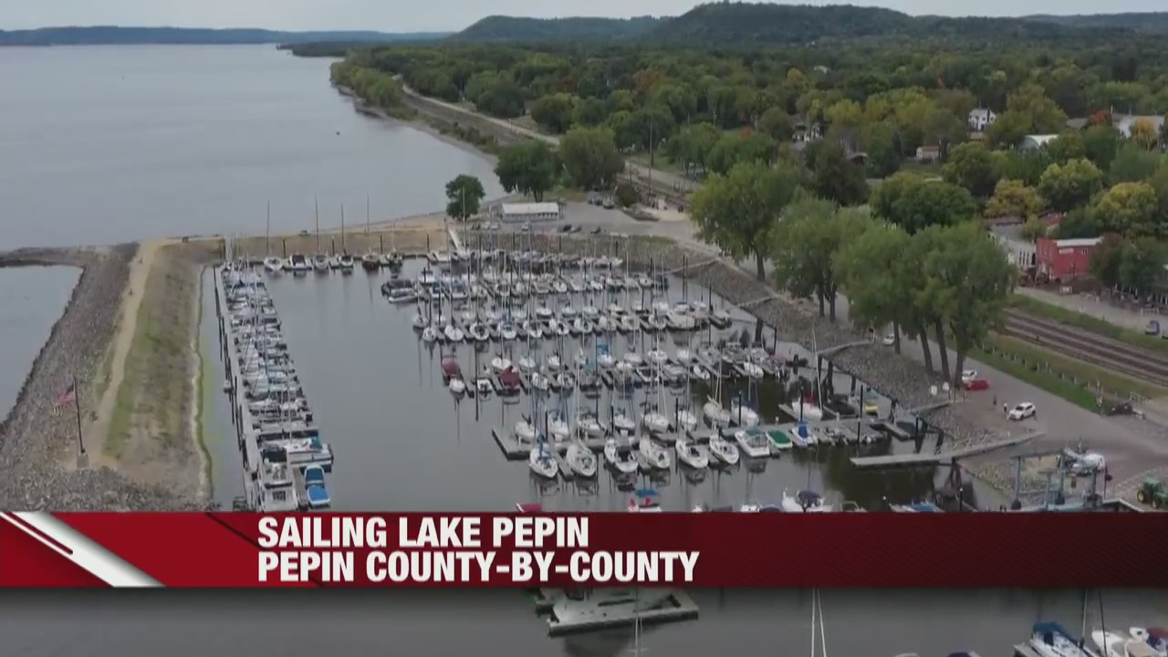 Sailing beautiful Lake Pepin - a top sailing destination in the upper Midwest