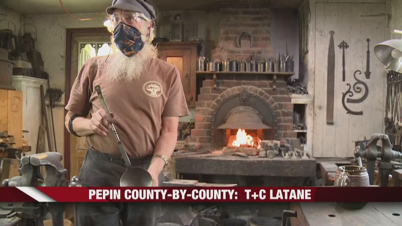 T&C Latane, Pepin County's original metalwork