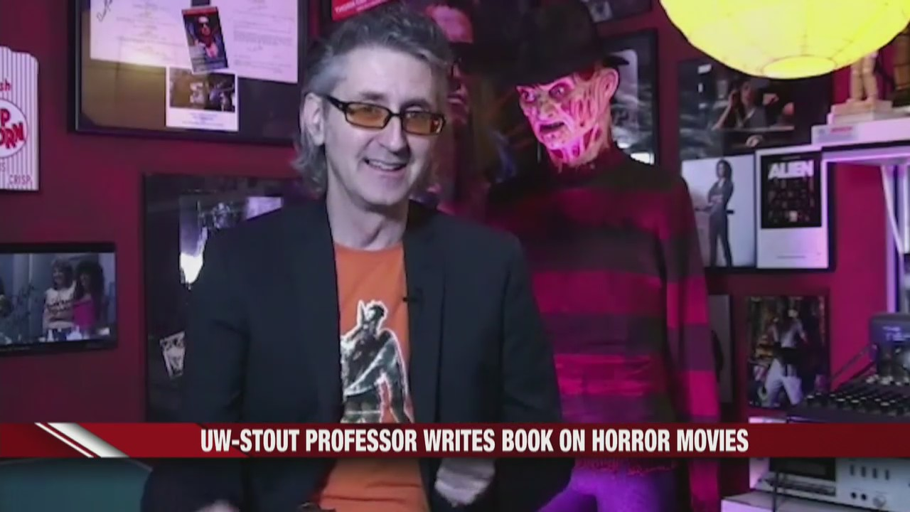UW-Stout professor writes book on horror movies