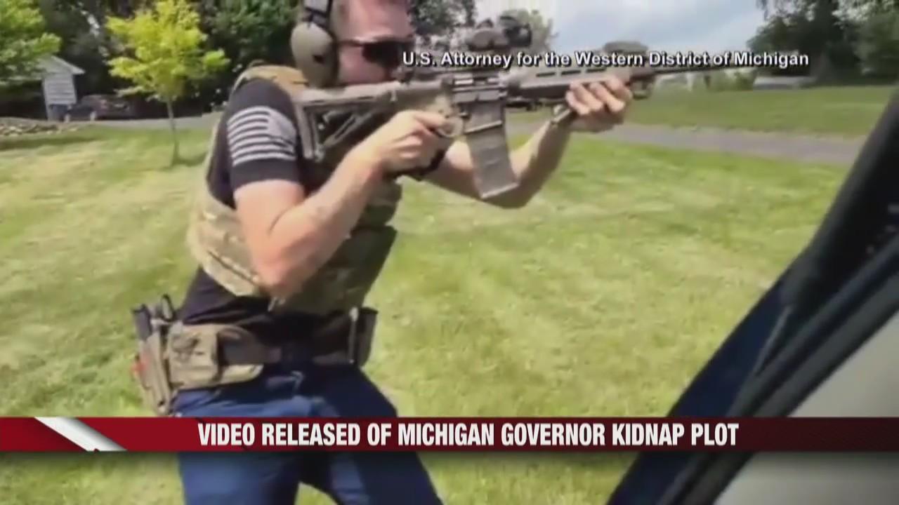 Video released of Michigan Gov. kidnap plot
