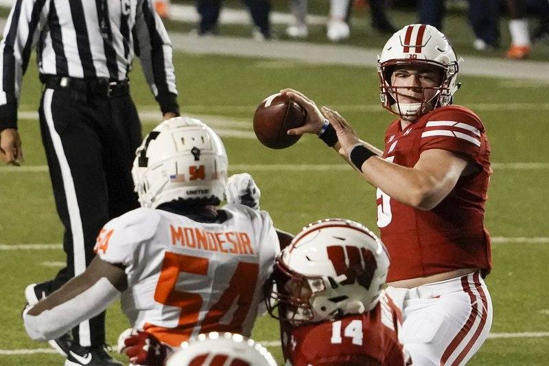 Wisconsin issues statement amid reports Mertz tests positive