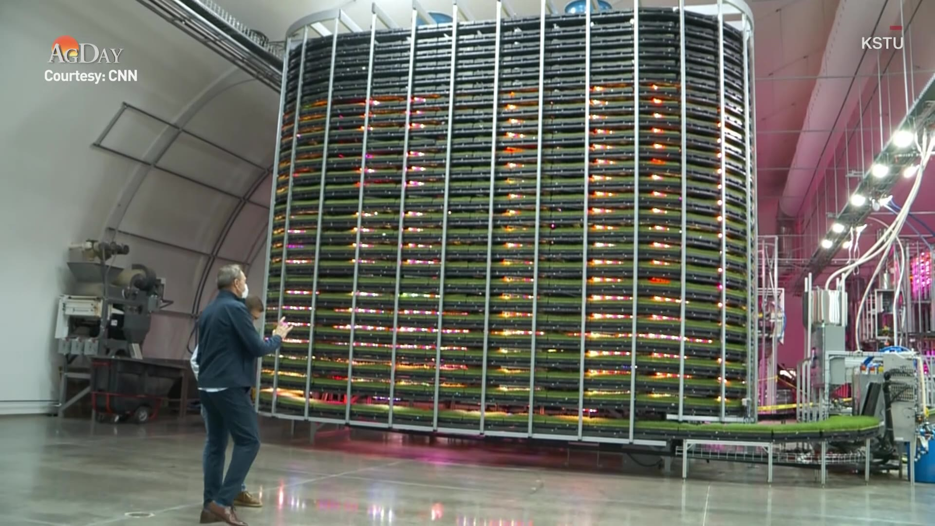 Feeding Animals for Less with Robotic Vertical Farming