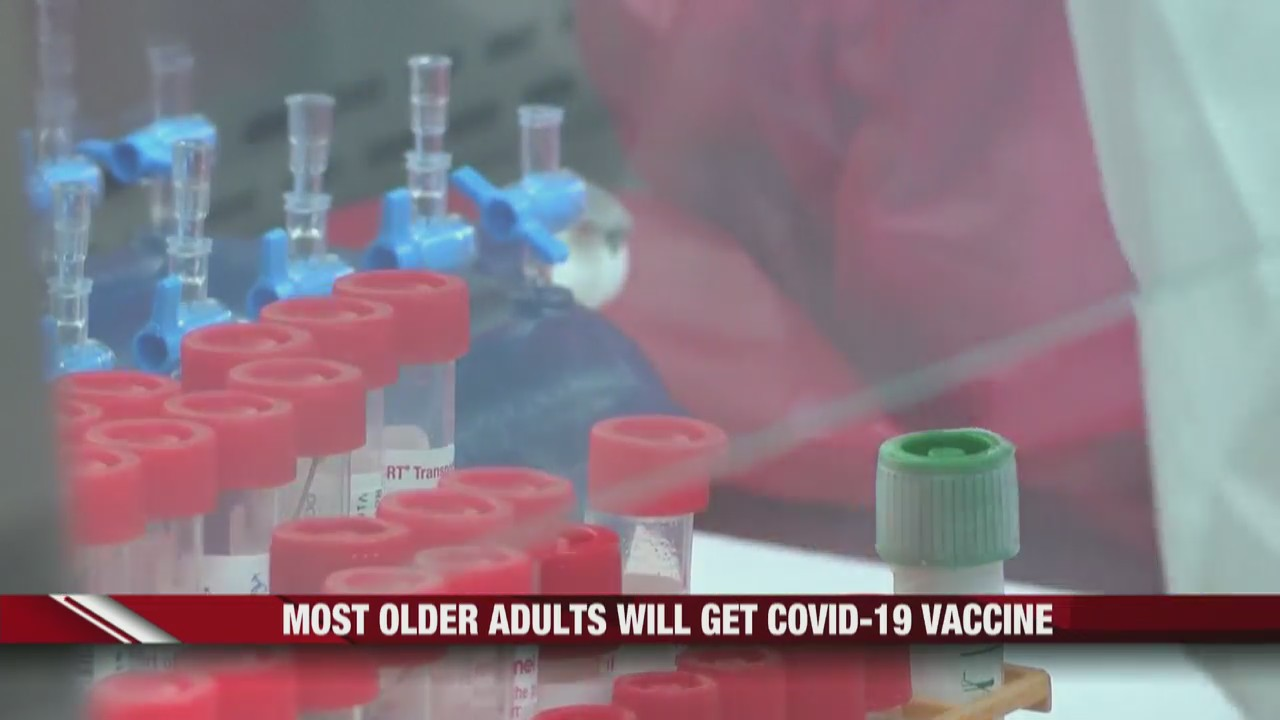 Most older adults will get COVID-19 vaccine