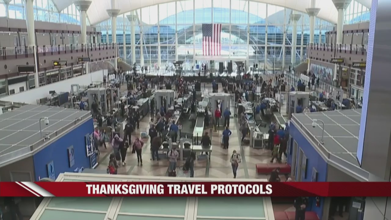 Thanksgiving travel protocols
