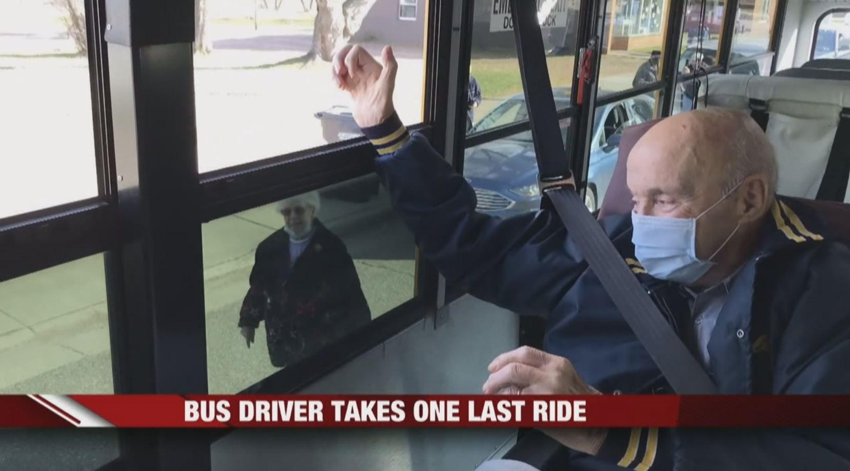 Former Osseo-Fairchild bus driver takes one last ride