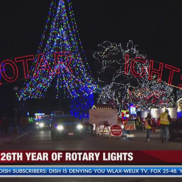 26th year of La Crosse Rotary Lights