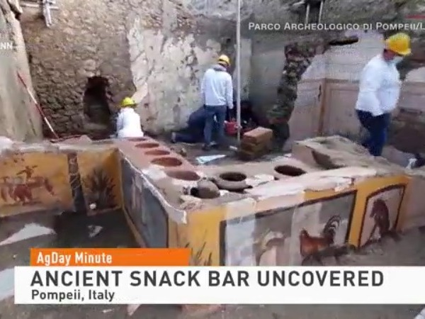 Ancient Snack Bar Uncovered!