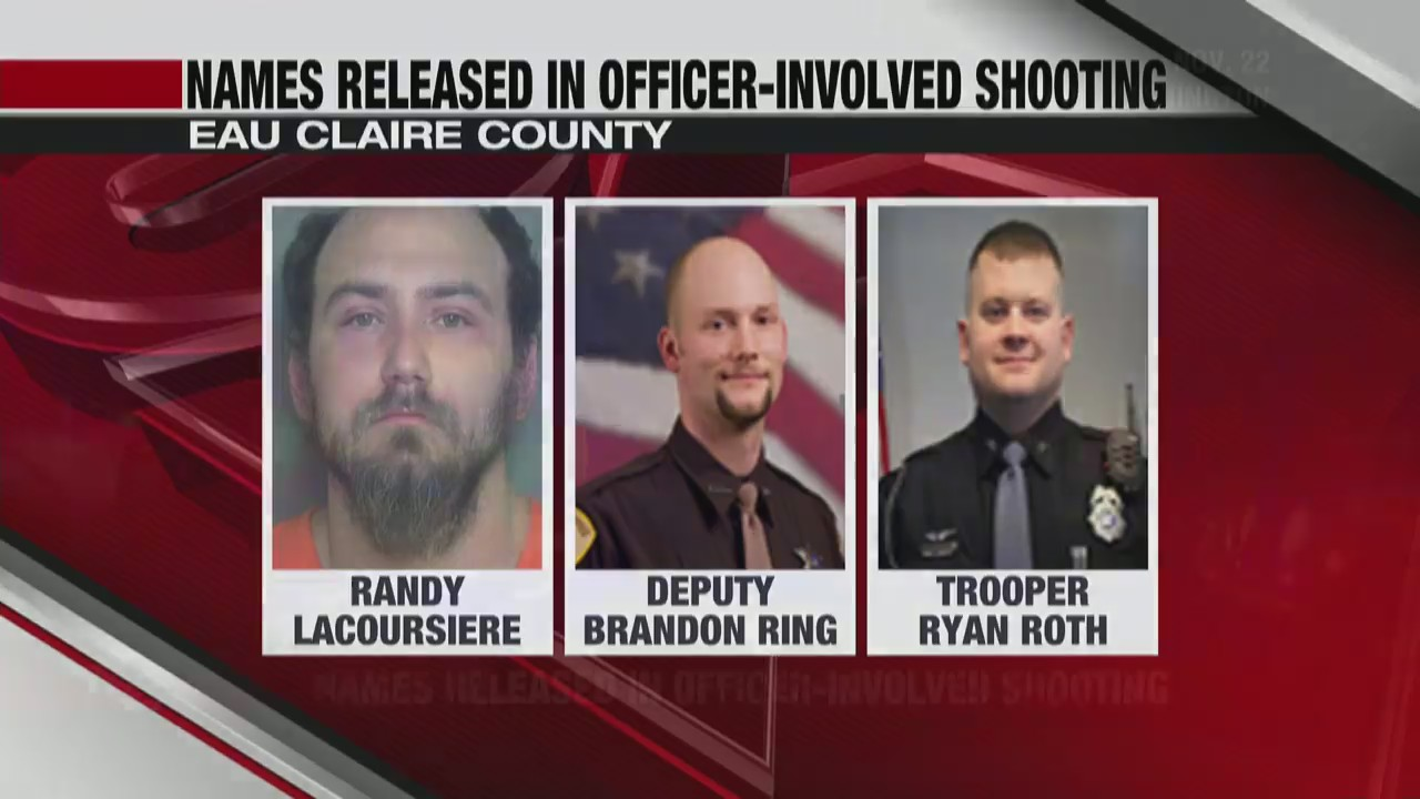 Names released in Eau Claire County officer-involved shooting