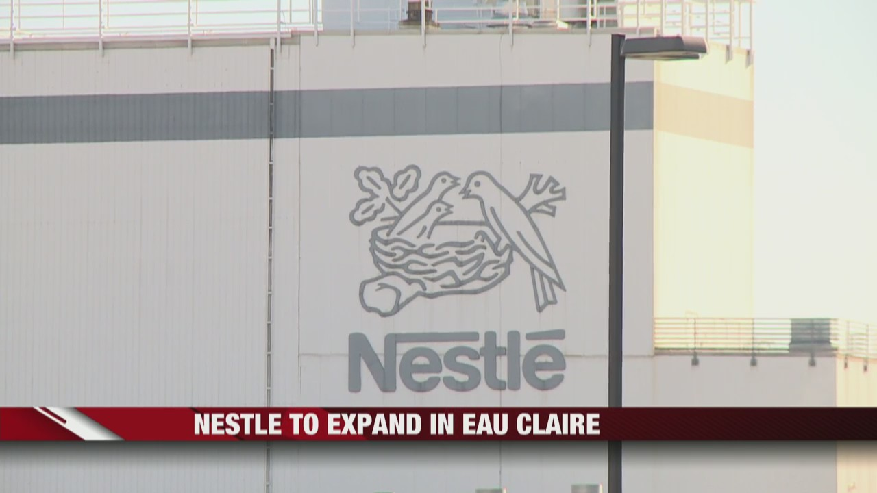 Nestle to expand in Eau Claire, providing dozens of new jobs