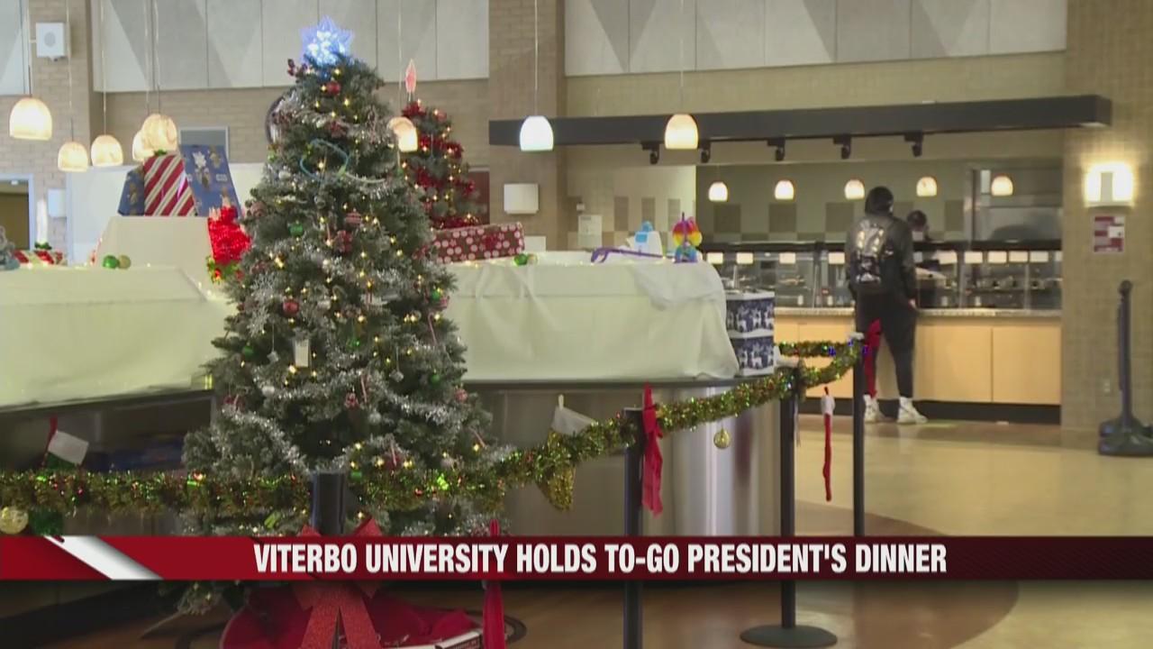 Viterbo University holds to-go President's Dinner