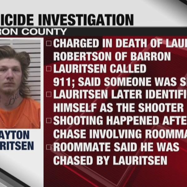 Barron County homicide investigation