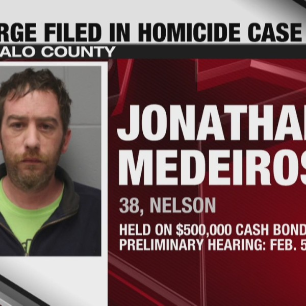 Charge filed in Buffalo County homicide case