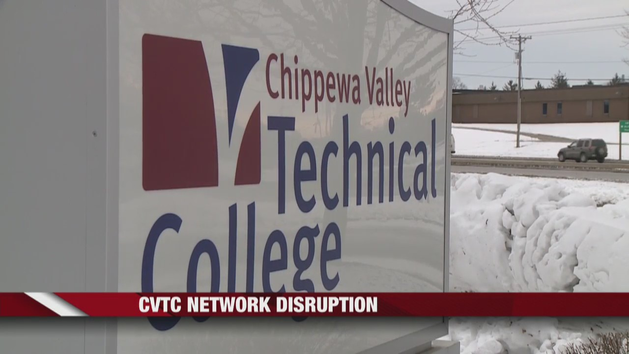 Network disruption at Chippewa Valley Technical College leads to classes being canceled