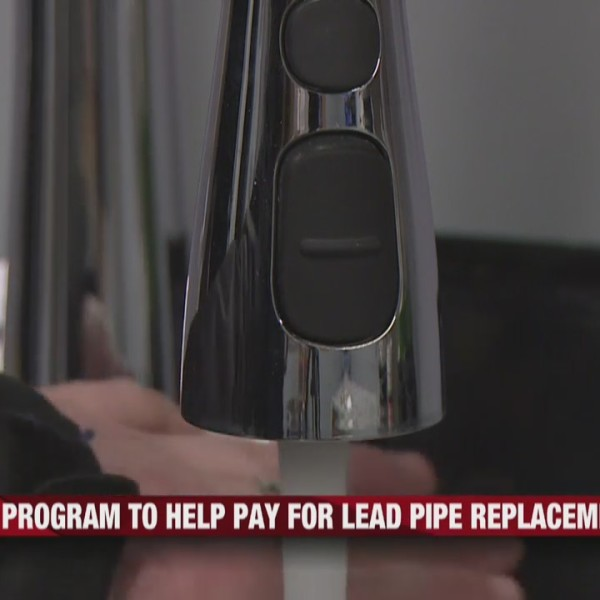 City of Eau Claire's program to help pay for lead pipe replacement