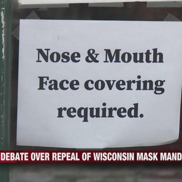 Debate over repeal of Wisconsin Mask Mandate