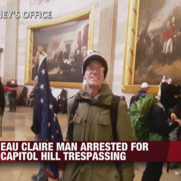Eau Claire man arrested for Capitol Hill trespassing