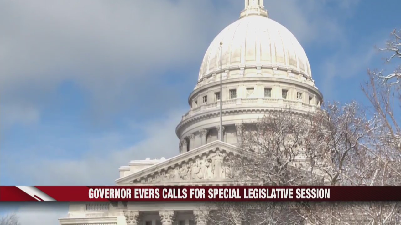 Governor Evers calls for special legislative session