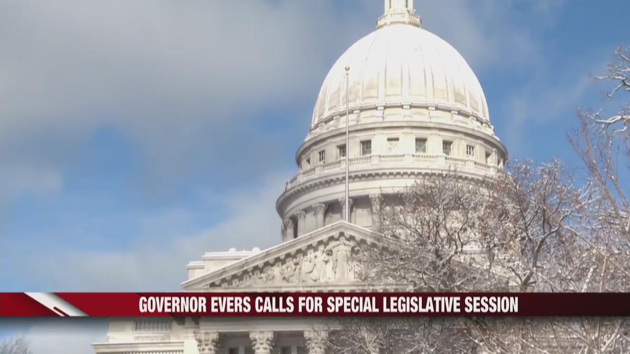 Governor Evers calls for special legislative session