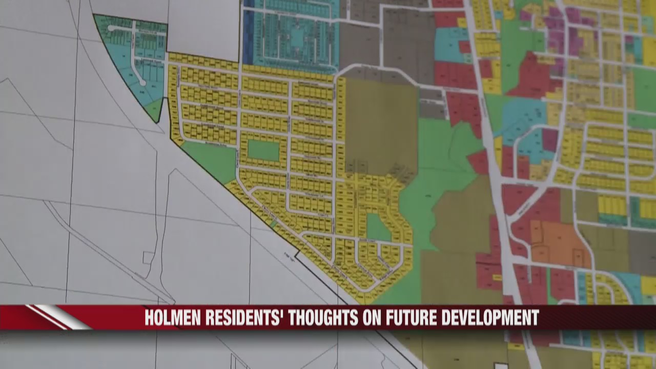 Holmen residents' thoughts on future development