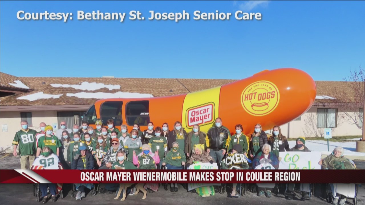 Oscar Mayer Wienermobile makes stop in Coulee Region