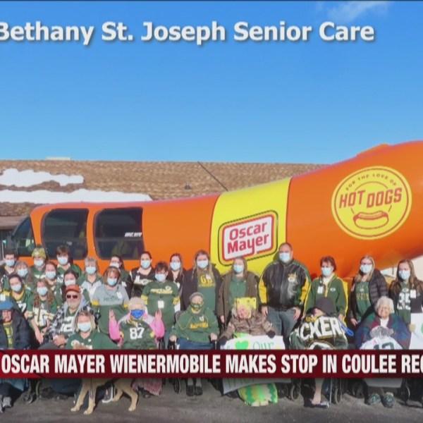 Oscar Mayer Wienermobile makes stop in Coulee Region