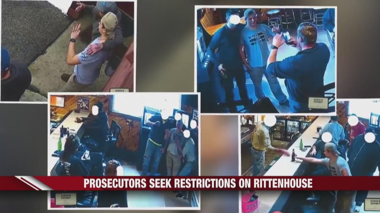 Prosecutors seeks restrictions on Rittenhouse