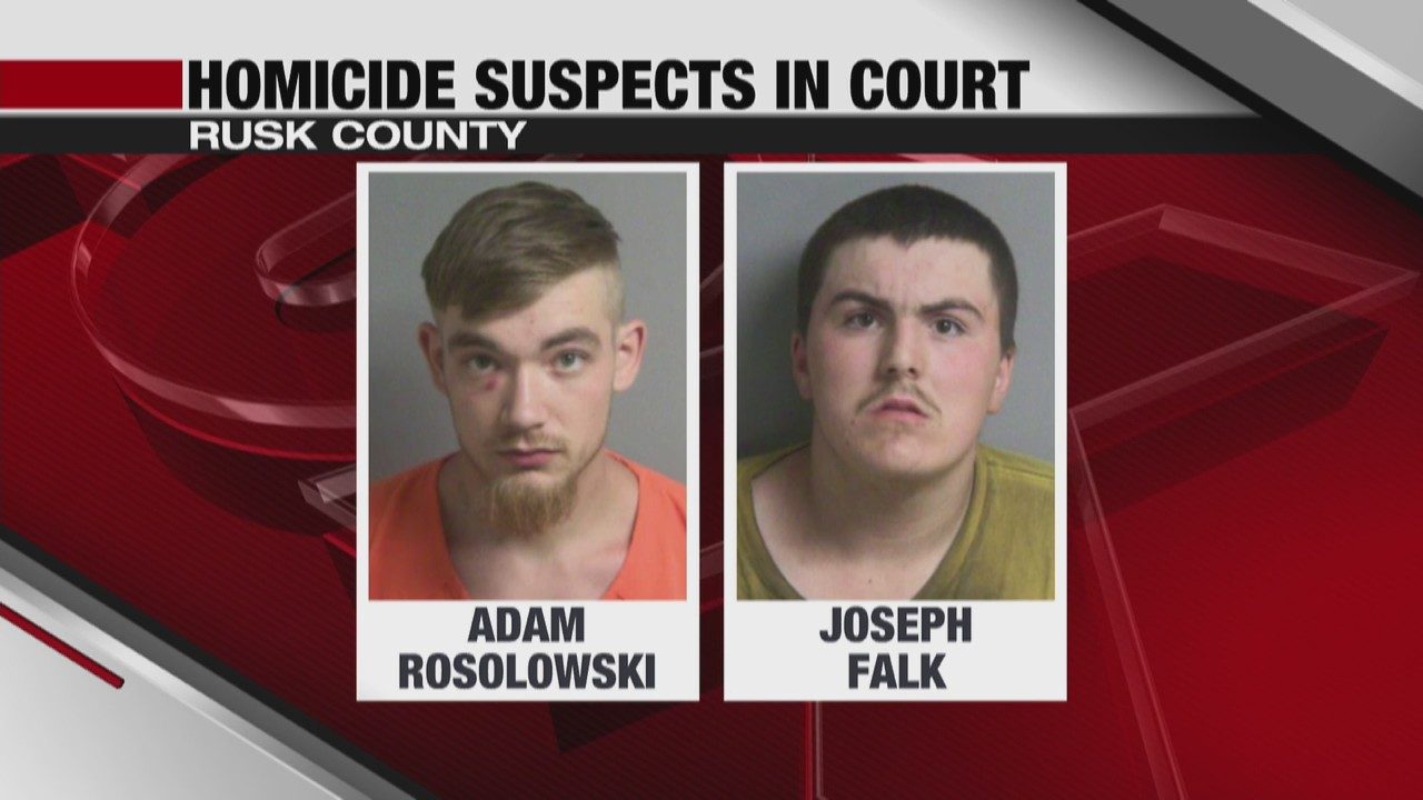 Rusk County homicide suspects back in court, one changing his plea