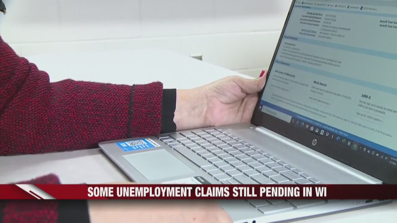 Unemployment claims still pending in Wisconsin