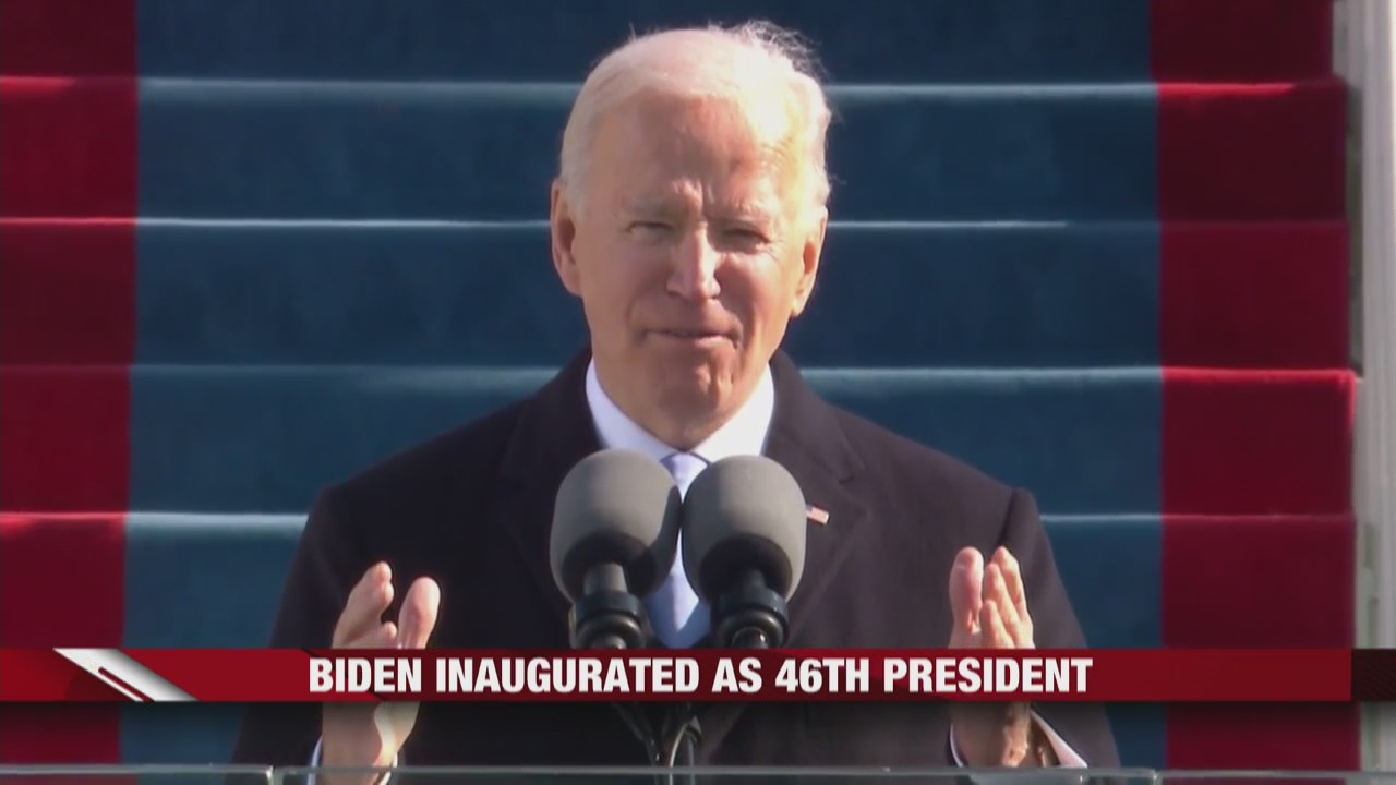 'Unity' was the theme in President Biden's inaugural address