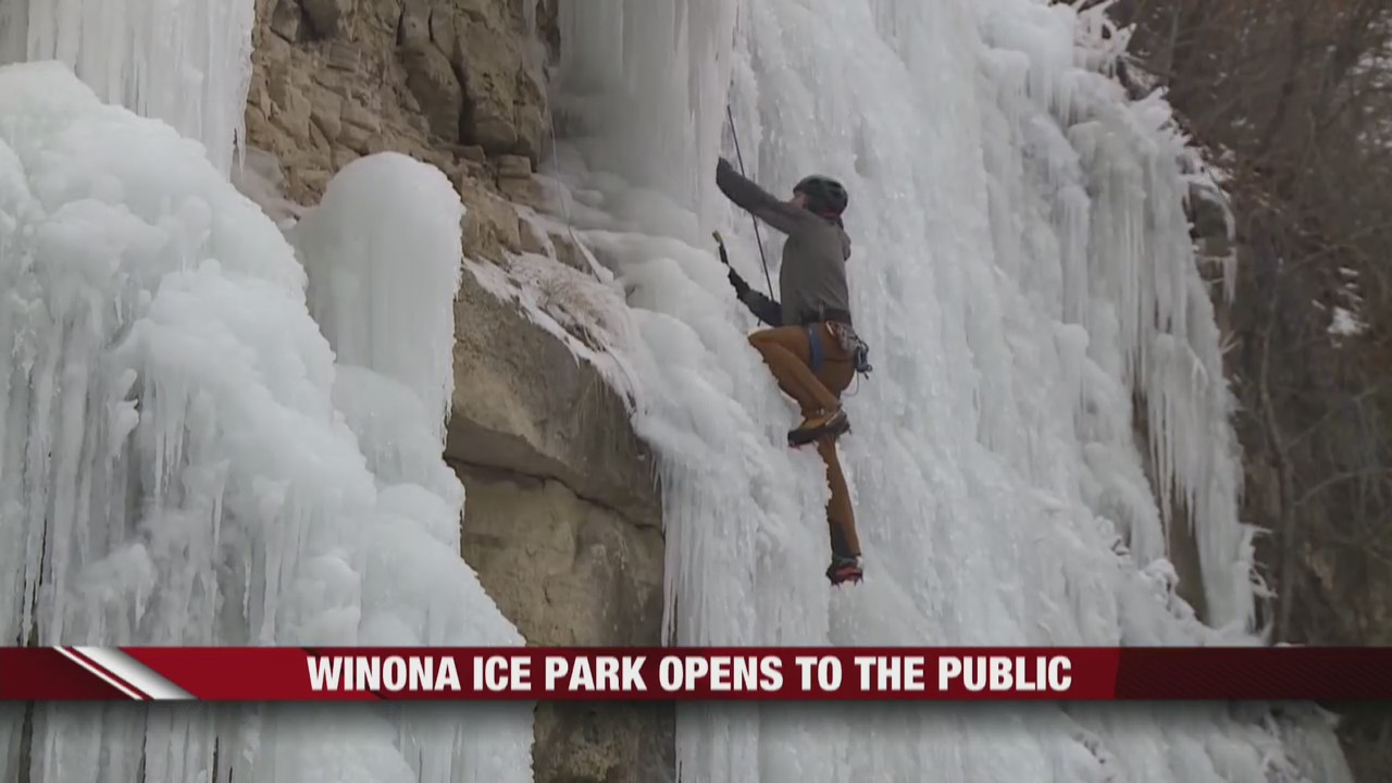 Winona Ice Park opens to the public