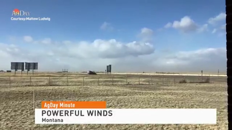 Winter Storm Brings Powerful Winds