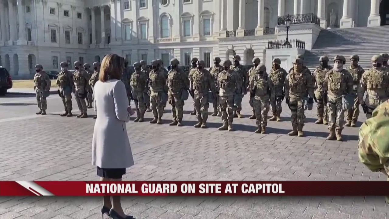 Wisconsin National Guard troops mobilize to support civil authorities in Washington D.C.