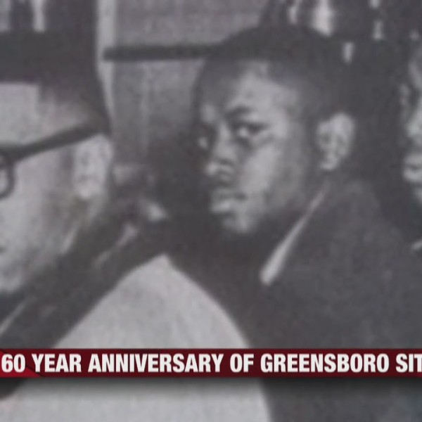 60 year anniversary of Greensboro sit-in