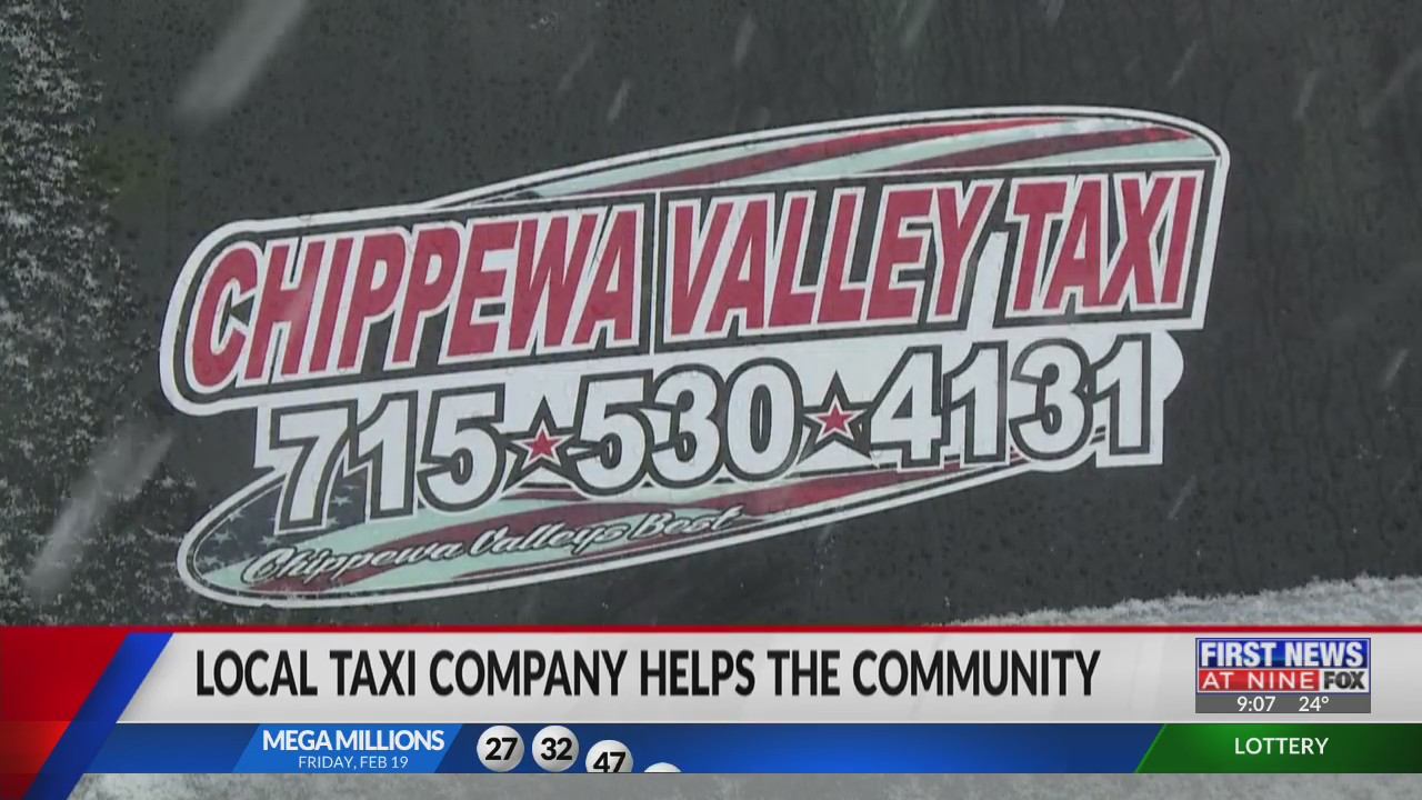 Chippewa Valley Taxi company gives back to the community