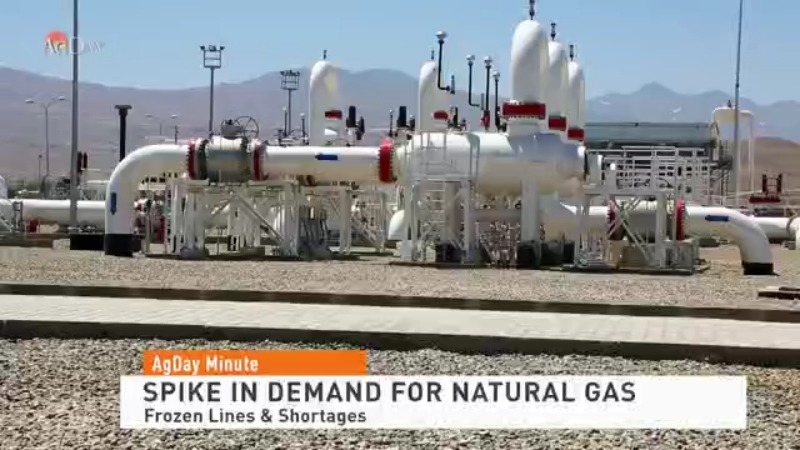 Deep Freeze Results in Demand Spike for Natural Gas
