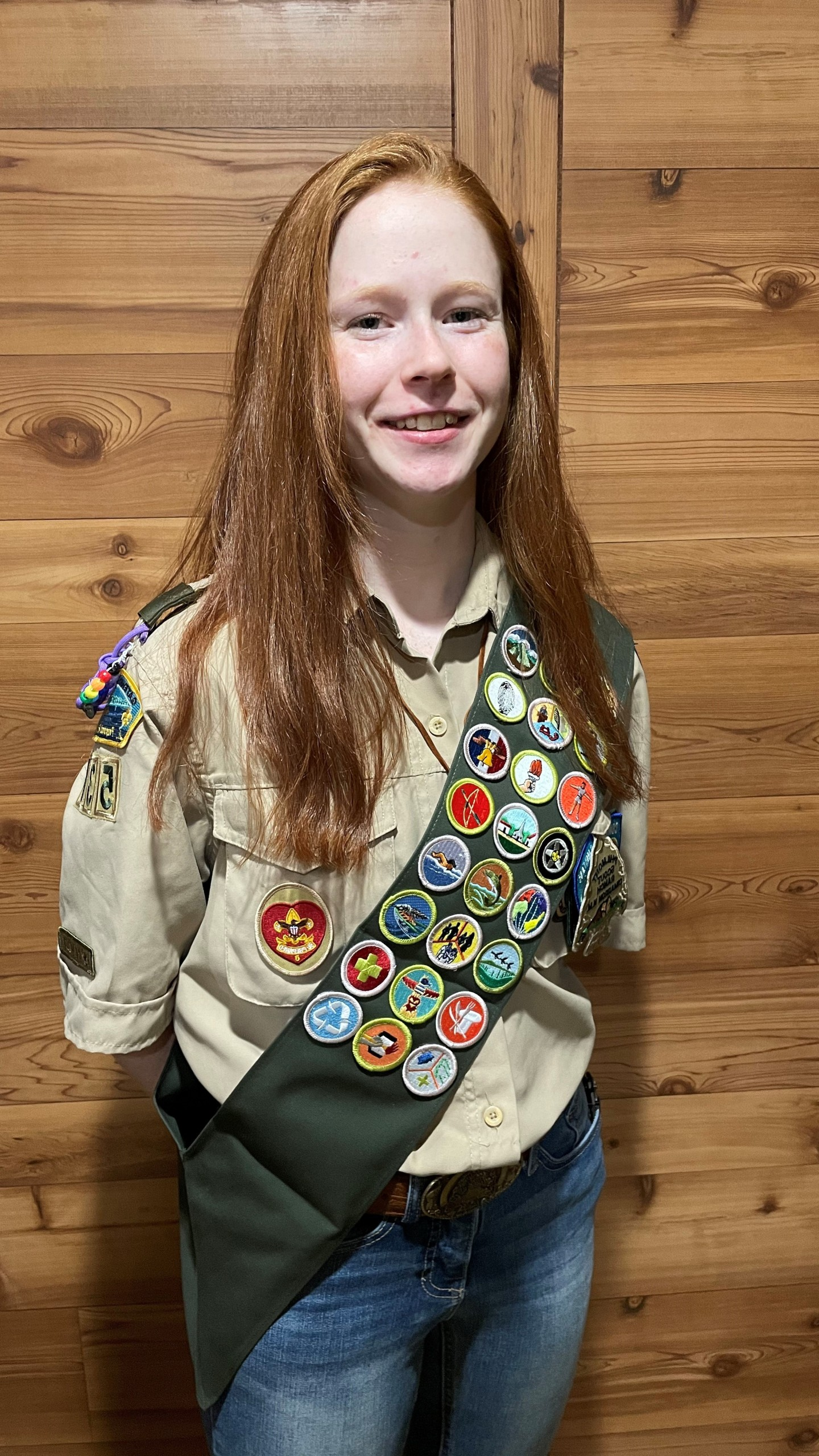 Houston (MN) Teen Set to Soar as One of the Nation's First Female Eagle Scouts
