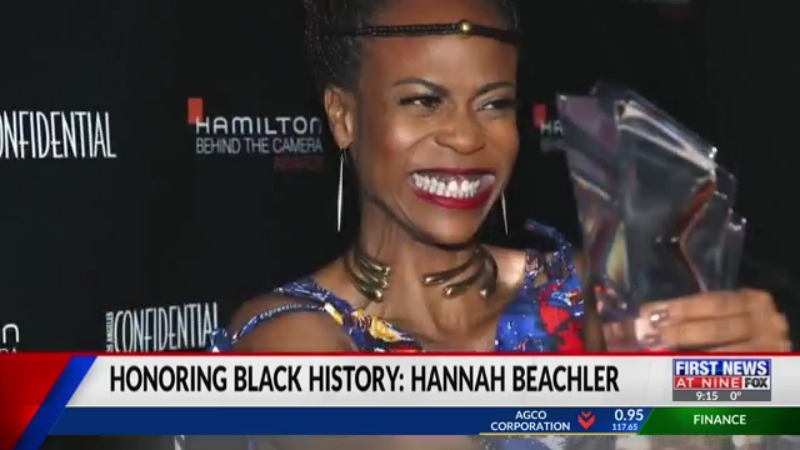 Hannah Beachler Production Designer honoring Black History