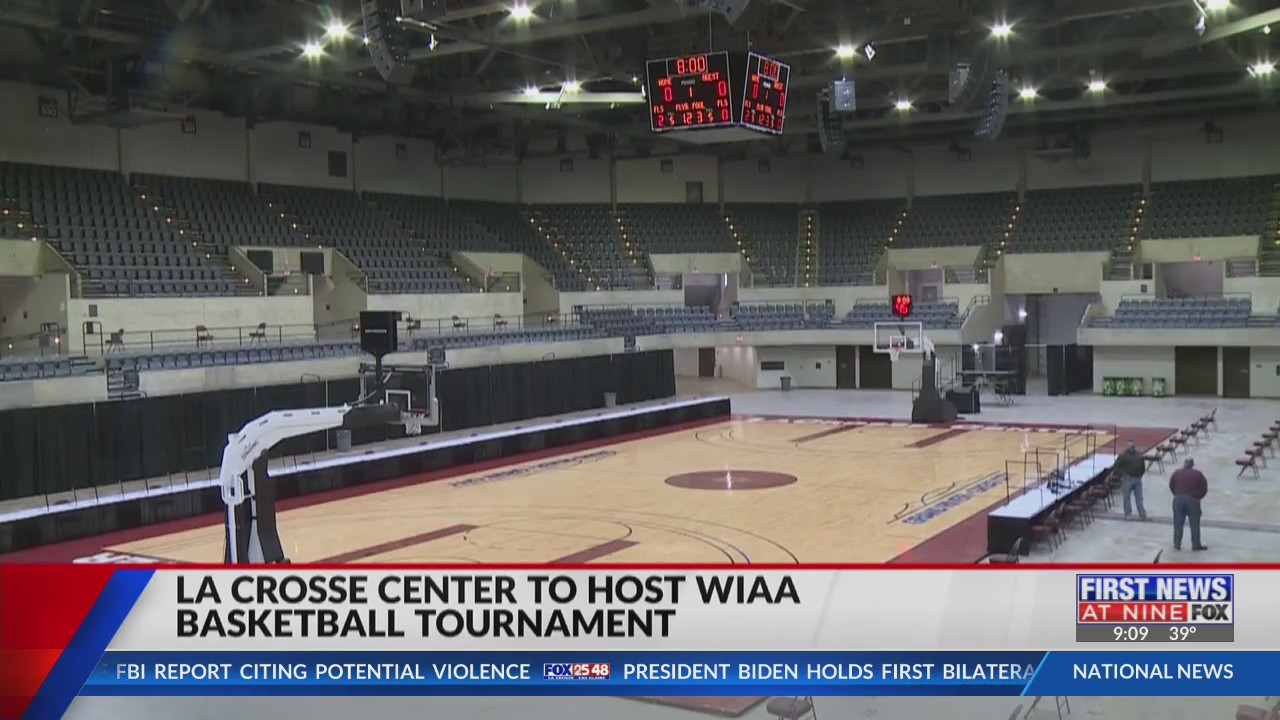 La Crosse Center welcomes fans for WIAA high school basketball