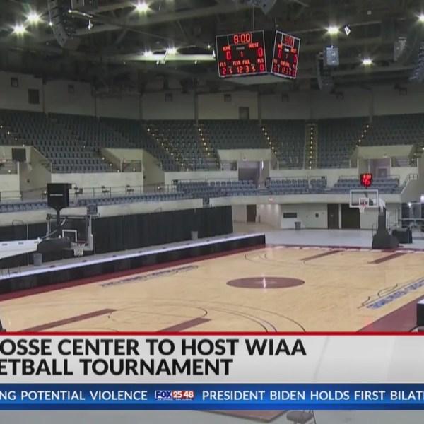 La Crosse Center welcomes fans for WIAA high school basketball