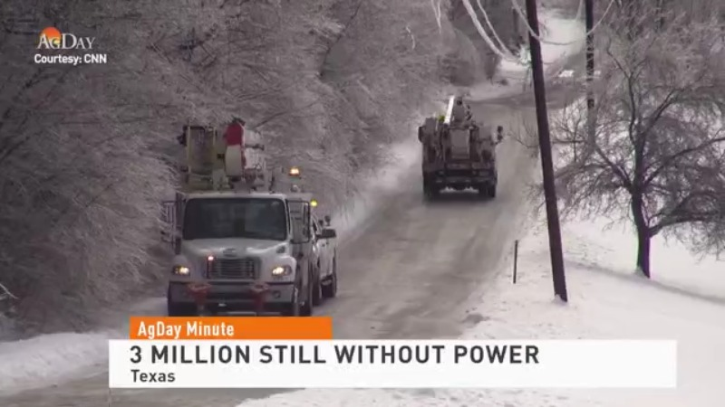 Millions Still Without Power in Texas