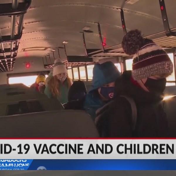 Update: COVID-19 vaccine and children