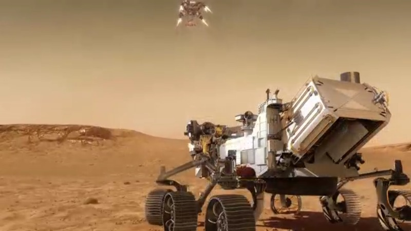What makes NASA's Perseverance rover landing on Mars difficult