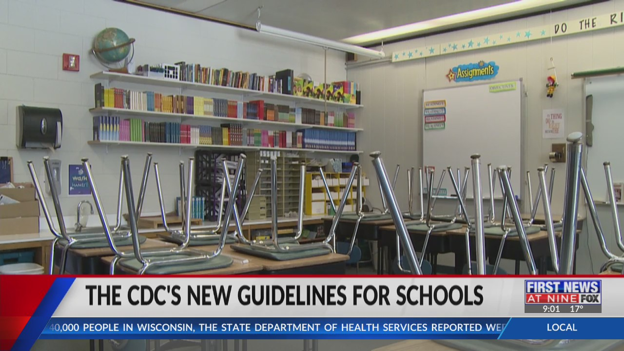 What the CDC's new guidelines mean for schools
