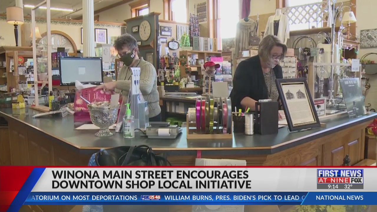 Winona Main Street promotes Shop Local initiative