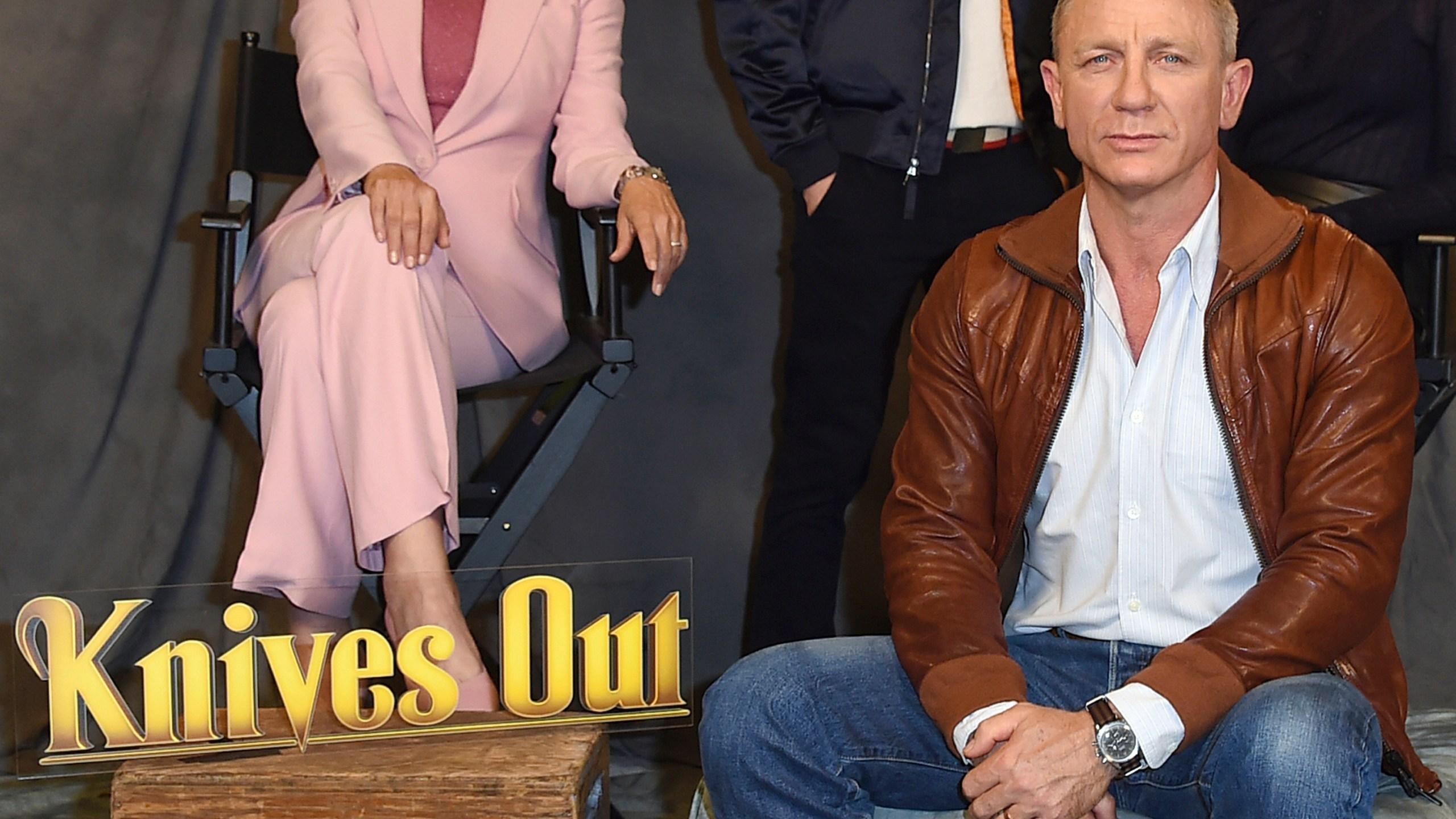 Jamie Lee Curtis, Chris Evans, Daniel Craig, Ana de Armas