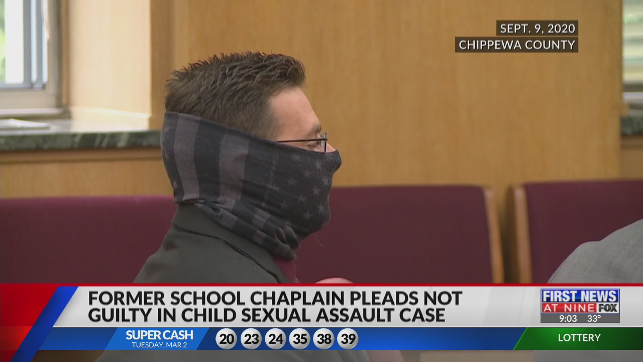 Former school chaplain pleads not guilty in child sexual assault case