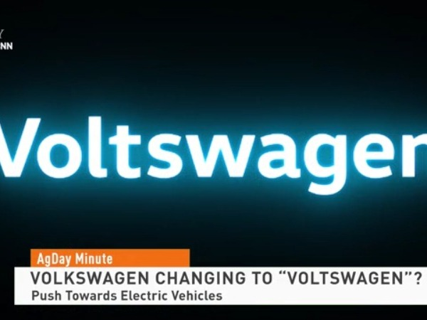Is Volkswagen changing its name to Voltswagen