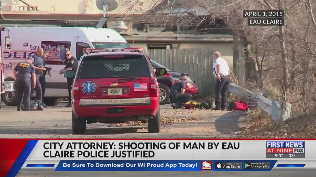 Lawsuit filed in case of man shot by Eau Claire Police in 2015