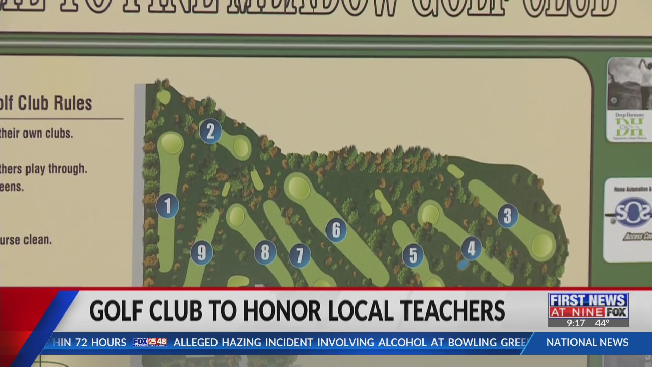 Pine Meadow Golf Club honors teachers with family memberships