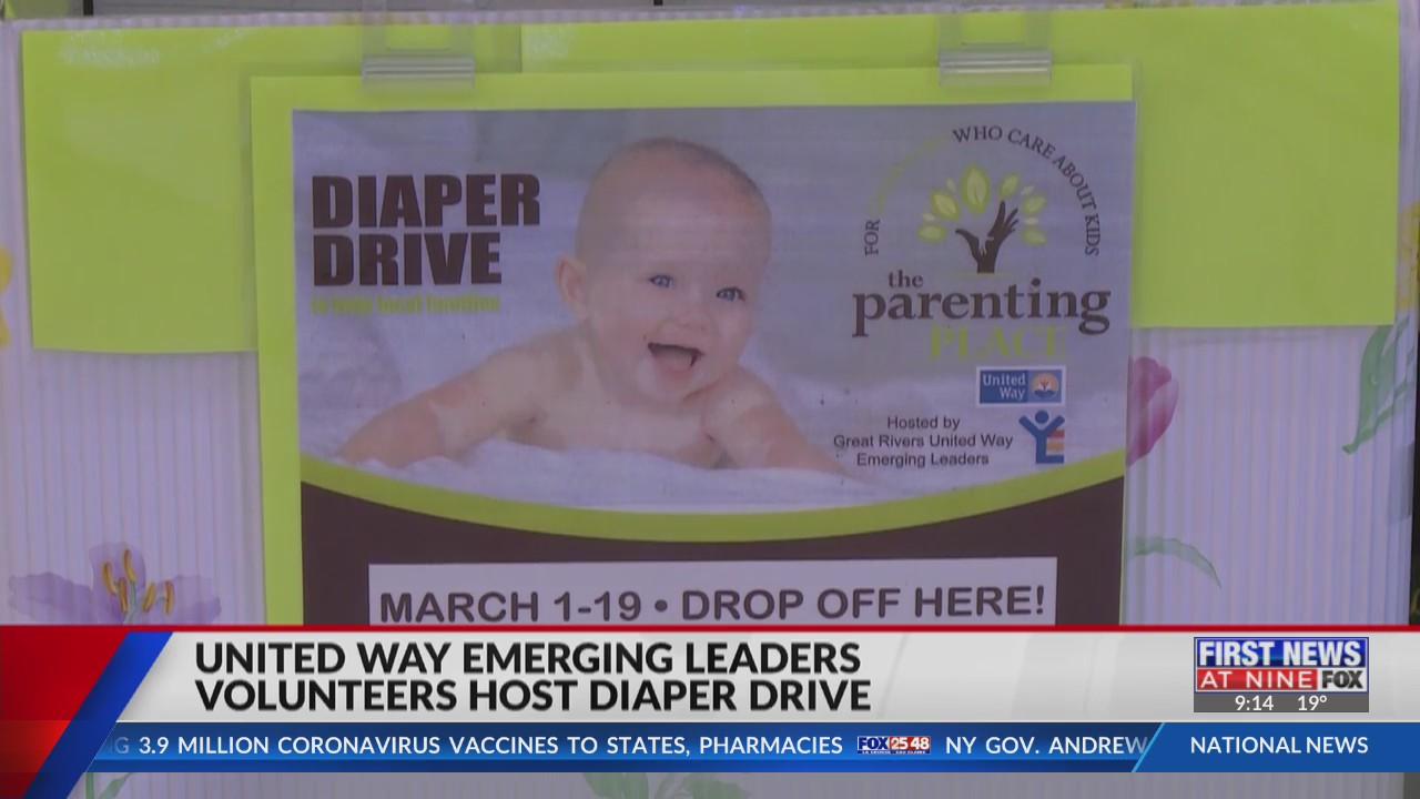 United Way Emerging Leaders host diaper drive in La Crosse